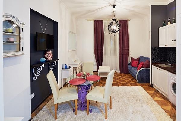 1-комнатная квартира посуточно в Львове. Лычаковский район, ул. Смольського, 6. Фото 1