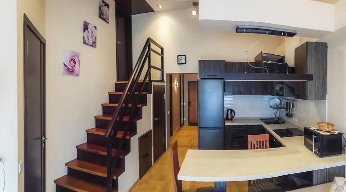 3-комнатная квартира посуточно в Партените. ул. Парковая, 5а. Фото 1