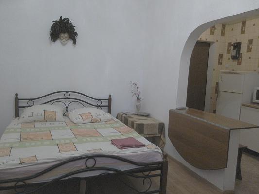 1-комнатная квартира посуточно в Сумах. Ковпаковский район, ул. Троицкая, 10. Фото 1