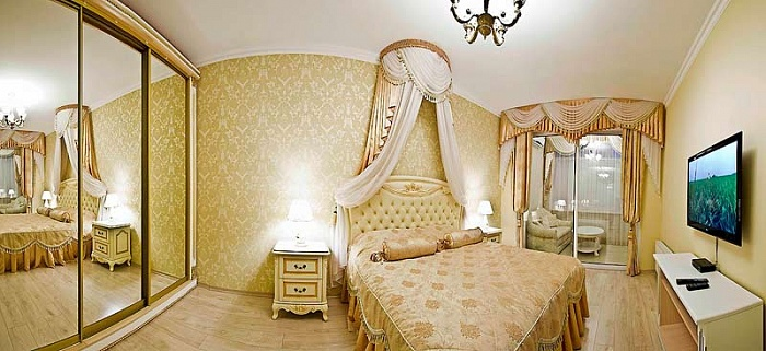 1-комнатная квартира посуточно в Севастополе. Ленинский район, ул. Советская, 41. Фото 1