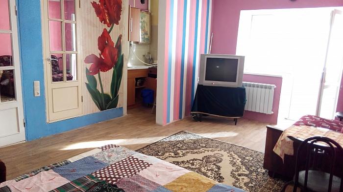 1-комнатная квартира посуточно в Горловке. Рудакова, 53. Фото 1
