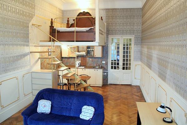 1-комнатная квартира посуточно в Одессе. Приморский район, ул. Некрасова, 4. Фото 1