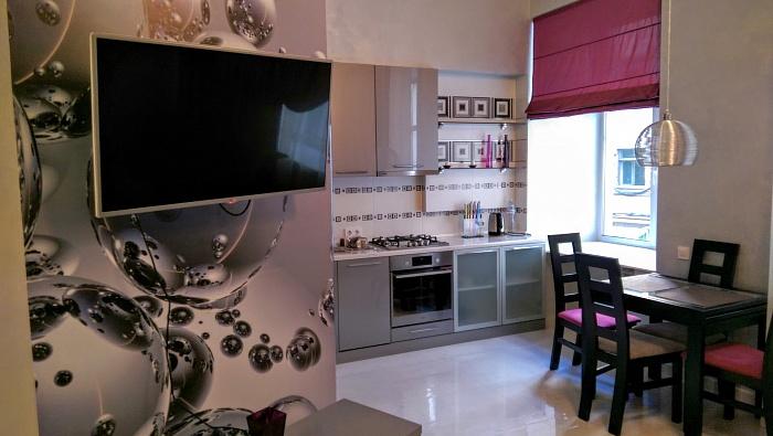 1-комнатная квартира посуточно в Киеве. Голосеевский район, ул. Красноармейская, 26. Фото 1