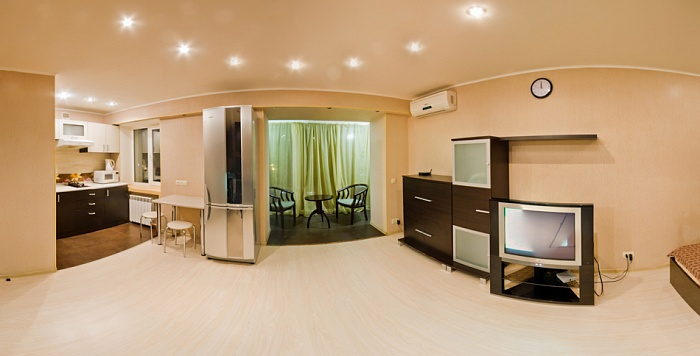 1-комнатная квартира посуточно в Харькове. Дзержинский район, пр-т Науки (Ленина), 32. Фото 1