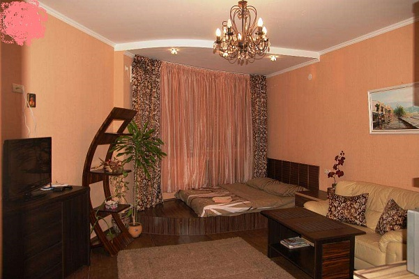 1-комнатная квартира посуточно в Чернигове. Деснянский район, ул. Челюскинцев, 9. Фото 1
