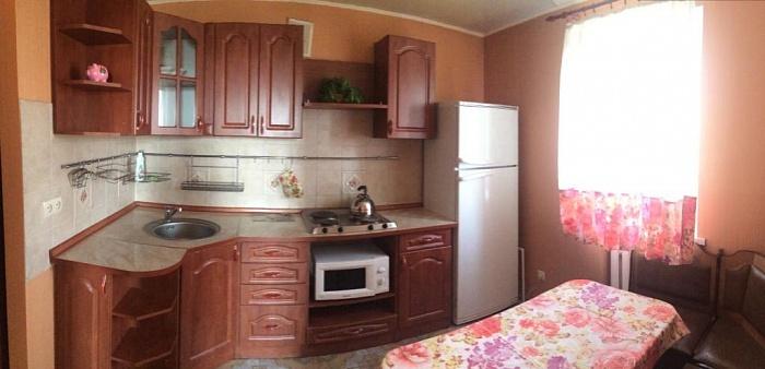 1-комнатная квартира посуточно в Донецке. Ворошиловский район, ул. Октябрьская, 84. Фото 1