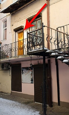 1-комнатная квартира посуточно в Львове. Галицкий район, пр-т Свободы, 23. Фото 1