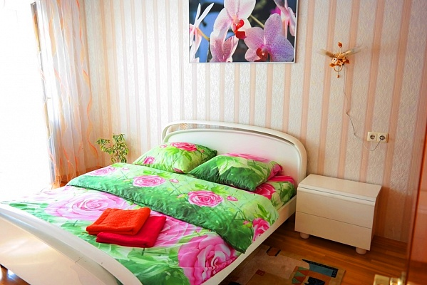 2-комнатная квартира посуточно в Киеве. Печерский район, ул. Леси Украинки, 5. Фото 1