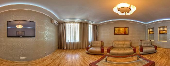 2-комнатная квартира посуточно в Харькове. Киевский район, улица Артема, 5. Фото 1