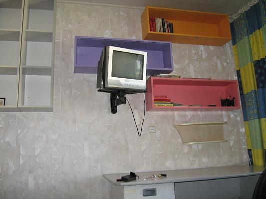 1-комнатная квартира посуточно в Киеве. Дарницкий район, ул. Вишняковская, 5а. Фото 1