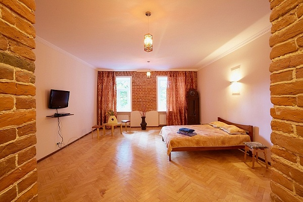 1-комнатная квартира посуточно в Львове. Галицкий район, ул. ВИННИЧЕНКО ВЛАДИМИРА, 26 B. Фото 1