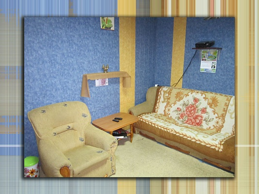 1-комнатная квартира посуточно в Прилуках. ул. Константиновская, 190. Фото 1