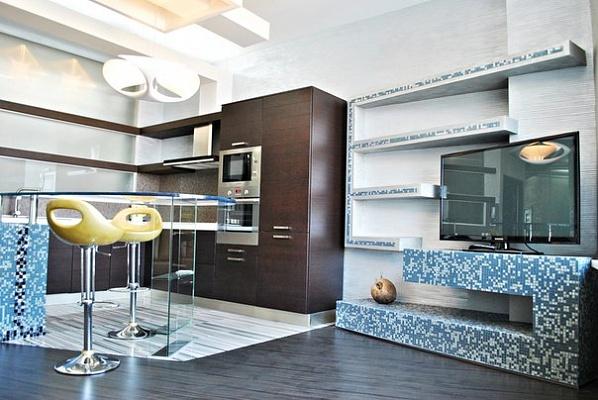 2-комнатная квартира посуточно в Одессе. Приморский район, ул. Литературная, 1А. Фото 1