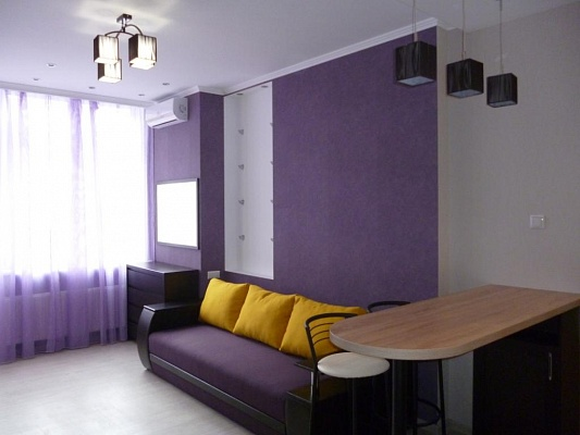 1-комнатная квартира посуточно в Киеве. Шевченковский район, ул. Жилянская, 118. Фото 1