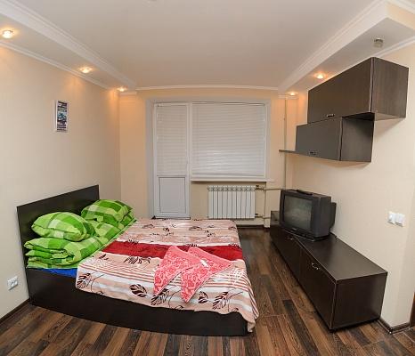 1-комнатная квартира посуточно в Сумах. Заречный район, ул. Харьковская, 98. Фото 1