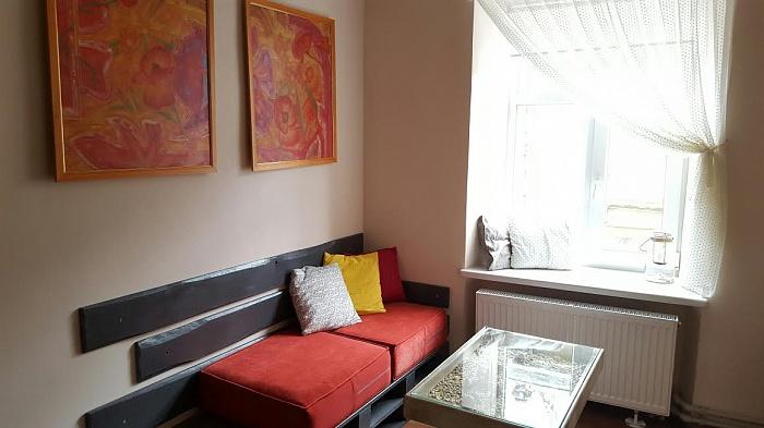 2-комнатная квартира посуточно в Львове. Галицкий район, ул. Братьев Рогатинцев, 47. Фото 1