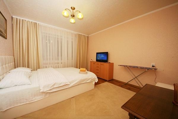 1-комнатная квартира посуточно в Донецке. Калининский район, ул. Ходаковского, 6. Фото 1