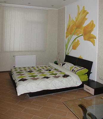 1-комнатная квартира посуточно в Одессе. Приморский район, ул. Гагаринское плато, 5А. Фото 1