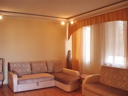1-комнатная квартира посуточно в Севастополе. Гагаринский район, Репина, 15. Фото 1