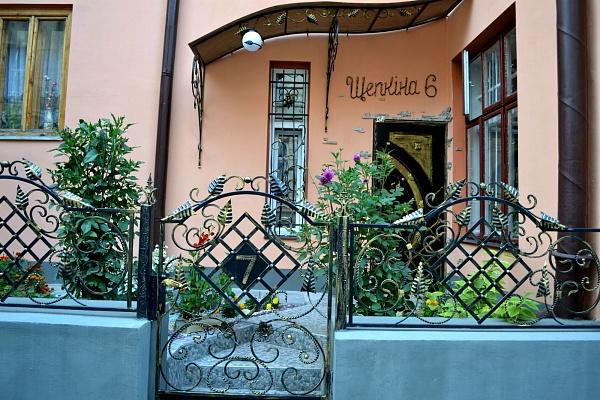 2-комнатная квартира посуточно в Львове. Галицкий район, щепкина, 6. Фото 1