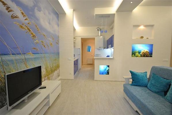 2-комнатная квартира посуточно в Одессе. Приморский район, пер. Красный, 9. Фото 1