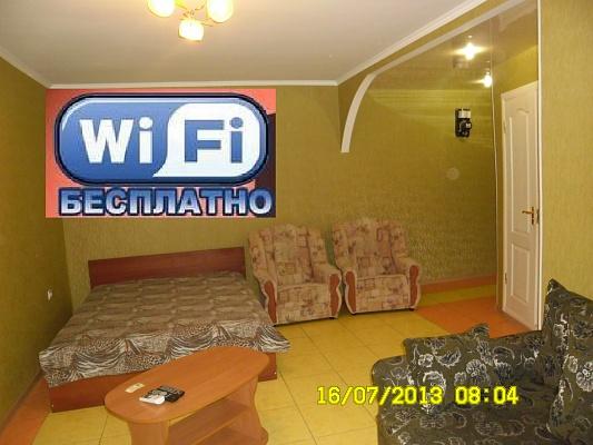 1-комнатная квартира посуточно в Кременчуге. ул. Шевченка, 34/2. Фото 1