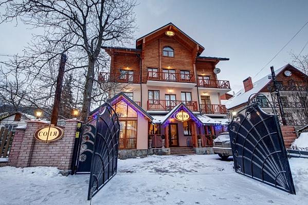 Мини-отель  посуточно в Яремче. г. Яремче район, ул. Хоткевича, 12 Б. Фото 1