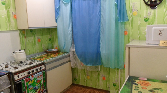 1-комнатная квартира посуточно в Севастополе. Гагаринский район, Корчагина, 42. Фото 1