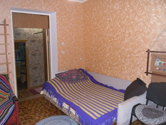 1-комнатная квартира посуточно в Симферополе. Центральный район, ул. Д. Ульянова, 40. Фото 1