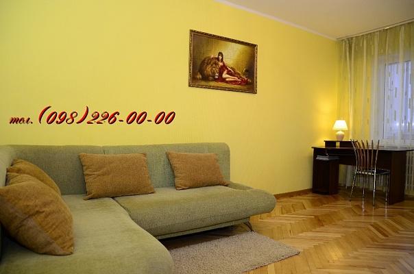 2-комнатная квартира посуточно в Киеве. Дарницкий район, ул. Ревуцкого , 44. Фото 1