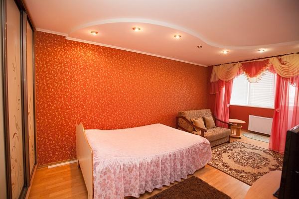 1-комнатная квартира посуточно в Полтаве. Октябрьский район, ул. Пушкина, 51а. Фото 1