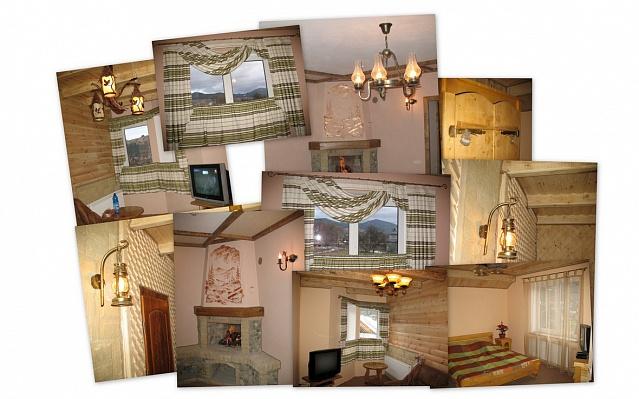Мини-отель  посуточно в Яремче. пгт. Микуличин район, АртГор, ул .Царина. Фото 1