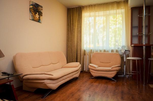 1-комнатная квартира посуточно в Чернигове. Деснянский район, ул. Серёжникова, 7. Фото 1