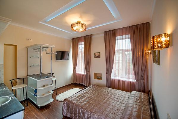 1-комнатная квартира посуточно в Львове. Франковский район, ул. Городоцкая, 131. Фото 1