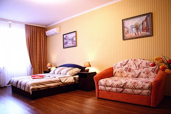 1-комнатная квартира посуточно в Киеве. Деснянский район, ул. Данькевича, 14. Фото 1
