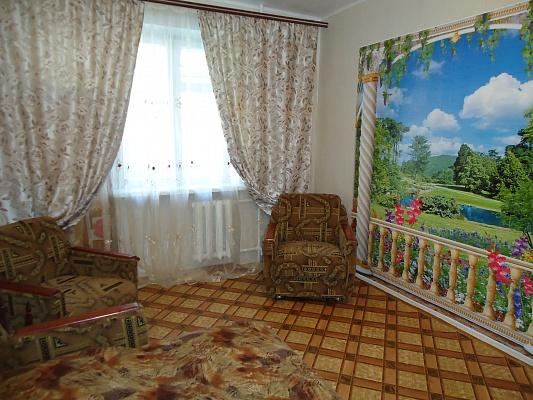1-комнатная квартира посуточно в Симферополе. Центральный район, ул. Кр. Партизан, 25. Фото 1