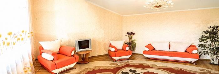 1-комнатная квартира посуточно в Хмельницком. пр-т Мира, 57/3. Фото 1