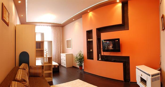 1-комнатная квартира посуточно в Львове. Галицкий район, ул. Огиенка, 7. Фото 1