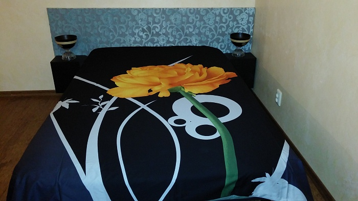 1-комнатная квартира посуточно в Днепропетровске. Кировский район, ул. Набережная Ленина, 15. Фото 1