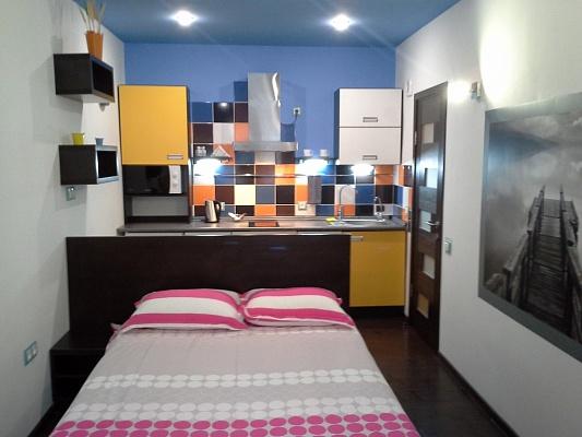 1-комнатная квартира посуточно в Львове. Лычаковский район, ул. Резбярская, 5. Фото 1