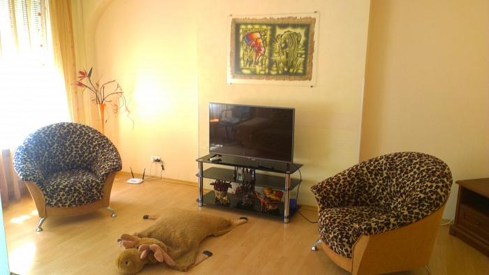 2-комнатная квартира посуточно в Одессе. Приморский район, ул. Нежинская, 49. Фото 1