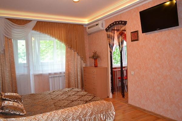 1-комнатная квартира посуточно в Донецке. Киевский район, ул. Щорса, 81. Фото 1