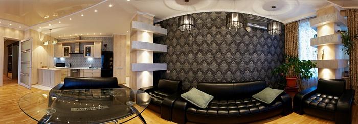 3-комнатная квартира посуточно в Одессе. Приморский район, ул. Литературная, 1a. Фото 1