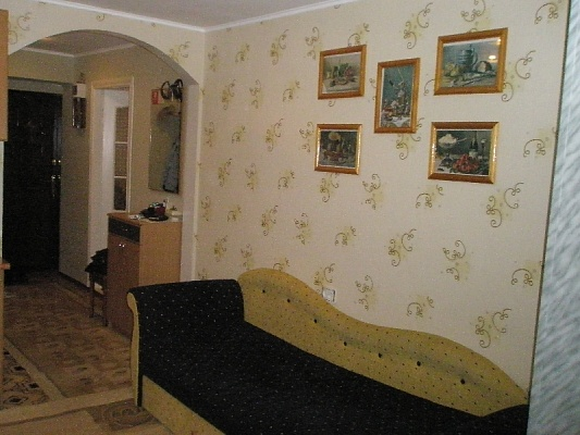 1-комнатная квартира посуточно в Алуште. ул.Таврическая, 1. Фото 1