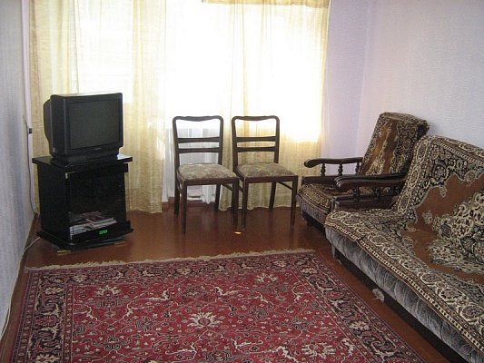 1-комнатная квартира посуточно в Днепропетровске. Октябрьский район, ул. Фурманова, 14. Фото 1