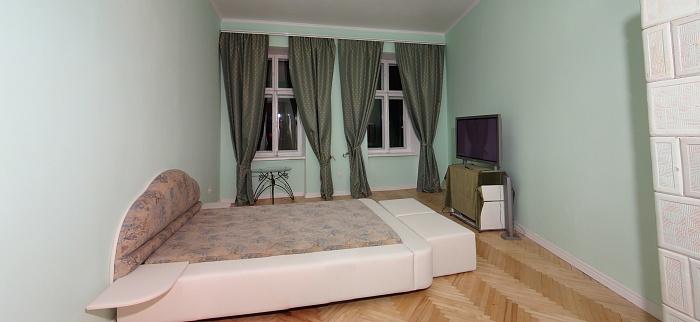 2-комнатная квартира посуточно в Львове. Галицкий район, ул. Драгоманова, 13. Фото 1