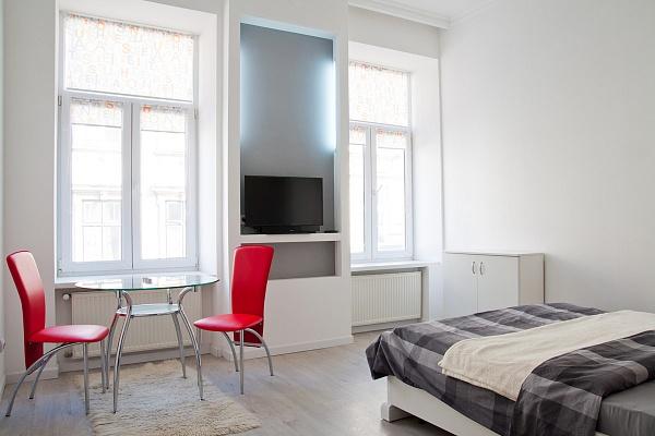 1-комнатная квартира посуточно в Львове. Галицкий район, ул. Яна Жижки, 6. Фото 1