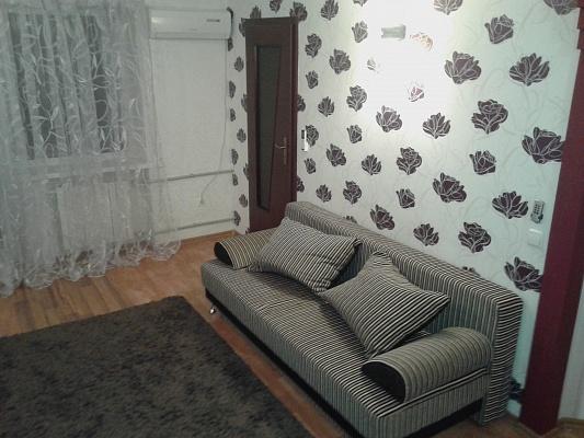 1-комнатная квартира посуточно в Донецке. Ворошиловский район, ул. Челюскинцев, 198. Фото 1