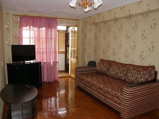 1-комнатная квартира посуточно в Алуште. ул. Заречная, 10. Фото 1