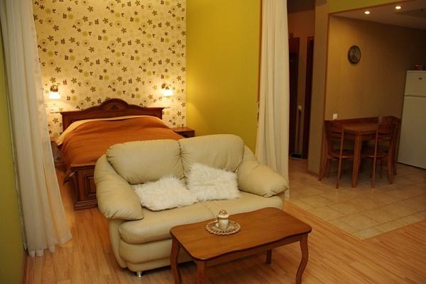 1-комнатная квартира посуточно в Одессе. Приморский район, пер. Воронцовский, 8. Фото 1